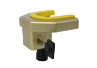 'Deluxe' drawbar lock