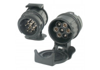 Adapter plug 13 pole - 7 pole short