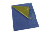 Tarpaulin blue / khaki - regular - 2 x 2m
