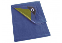 DECK SHEET - BLUE / KAKI - STRONG - 6 x 10 m