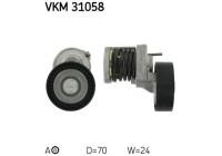 Spännrulle, aggregatrem VKM 31058 SKF