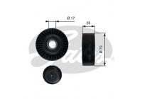 Styrrulle, flerspårsrem DriveAlign® T36249 Gates