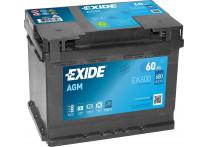 Exide Accu Start-Stop AGM EK600 60 Ah