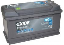 Exide Accu Premium EA1000 100 Ah