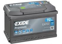 Exide Accu Premium EA722 72 Ah