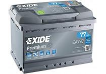 Exide Accu Premium EA770 77 Ah