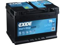 Exide Accu Start-Stop AMG EK700 70 Ah
