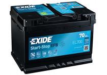 Exide Accu Start-Stop EFB EL700 70 Ah