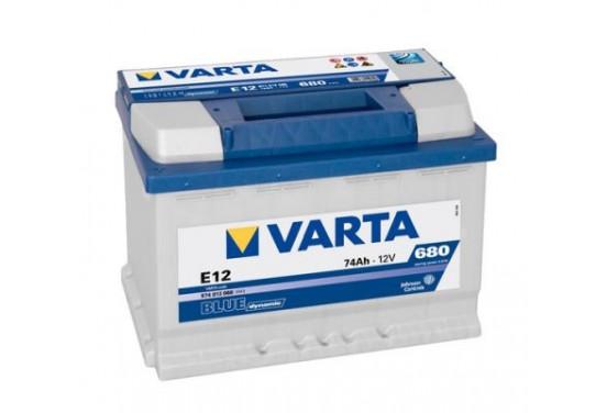 Varta Accu Blue Dynamic E12 74 Ah