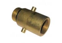 Gas nippel Nederland 22mm