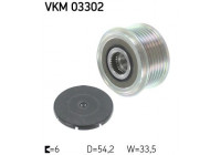 Dynamovrijloop VKM 03302 SKF