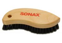 Brosse en cuir et textile Sonax