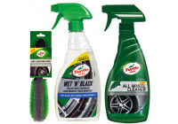 Paquet Turtle Wax 'Clean Jantes & Pneus'
