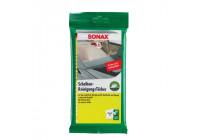 Sonax Chiffon de nettoyage pour vitres - 10 pièces