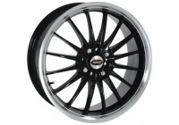 Jet Black Machined Rim
