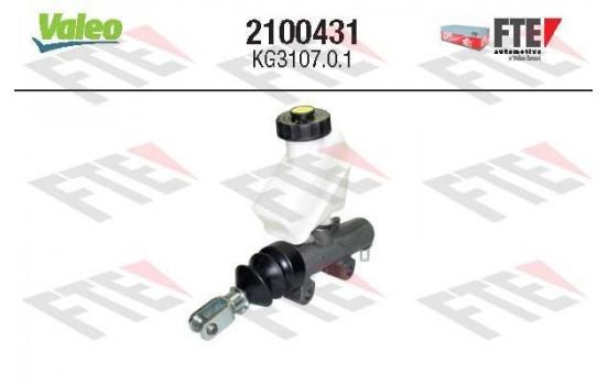 Hoofdcilinder, koppeling 2100431 Valeo