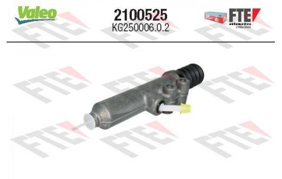 Hoofdcilinder, koppeling 2100525 Valeo