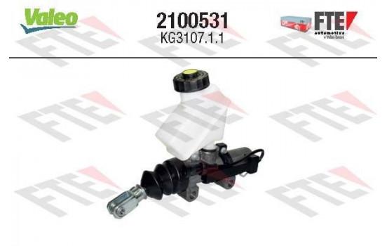 Hoofdcilinder, koppeling 2100531 Valeo