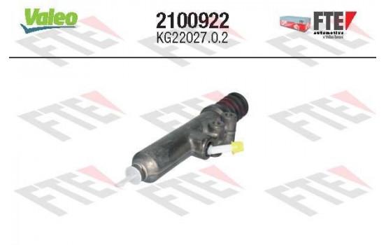 Hoofdcilinder, koppeling 2100922 Valeo