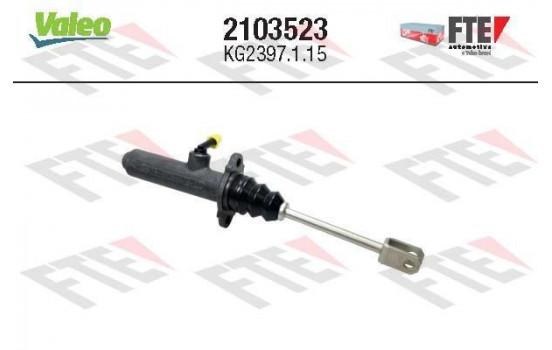 Hoofdcilinder, koppeling 2103523 Valeo