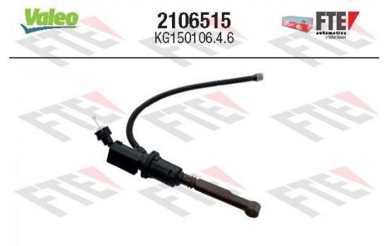 Hoofdcilinder, koppeling 2106515 Valeo