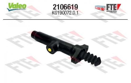 Hoofdcilinder, koppeling 2106619 Valeo