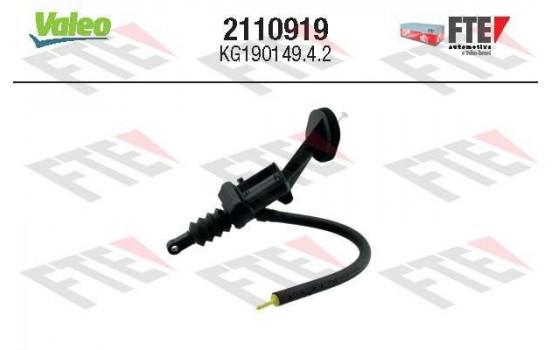 Hoofdcilinder, koppeling 2110919 Valeo