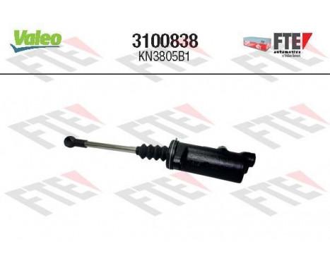 Hulpcilinder, koppeling 3100838 Valeo