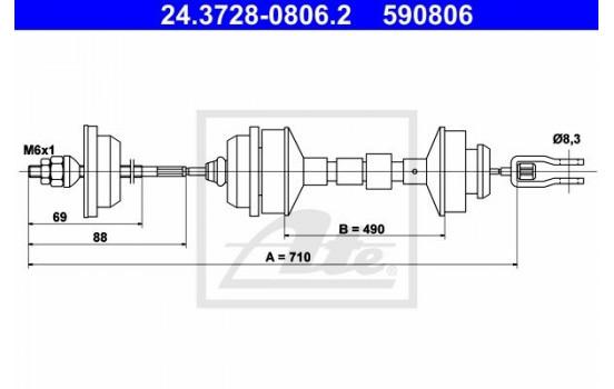 Koppelingkabel