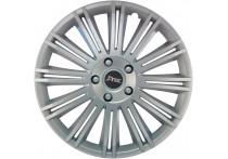 4-Delige J-Tec Wieldoppenset Discovery 14-inch zilver