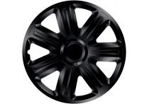 4-Delige Wieldoppenset Comfort  Black 15 Inch