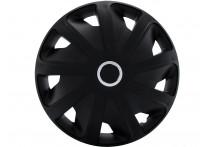 4-Delige Wieldoppenset Craft RC Black  (Bolle Velgen) 15-inch