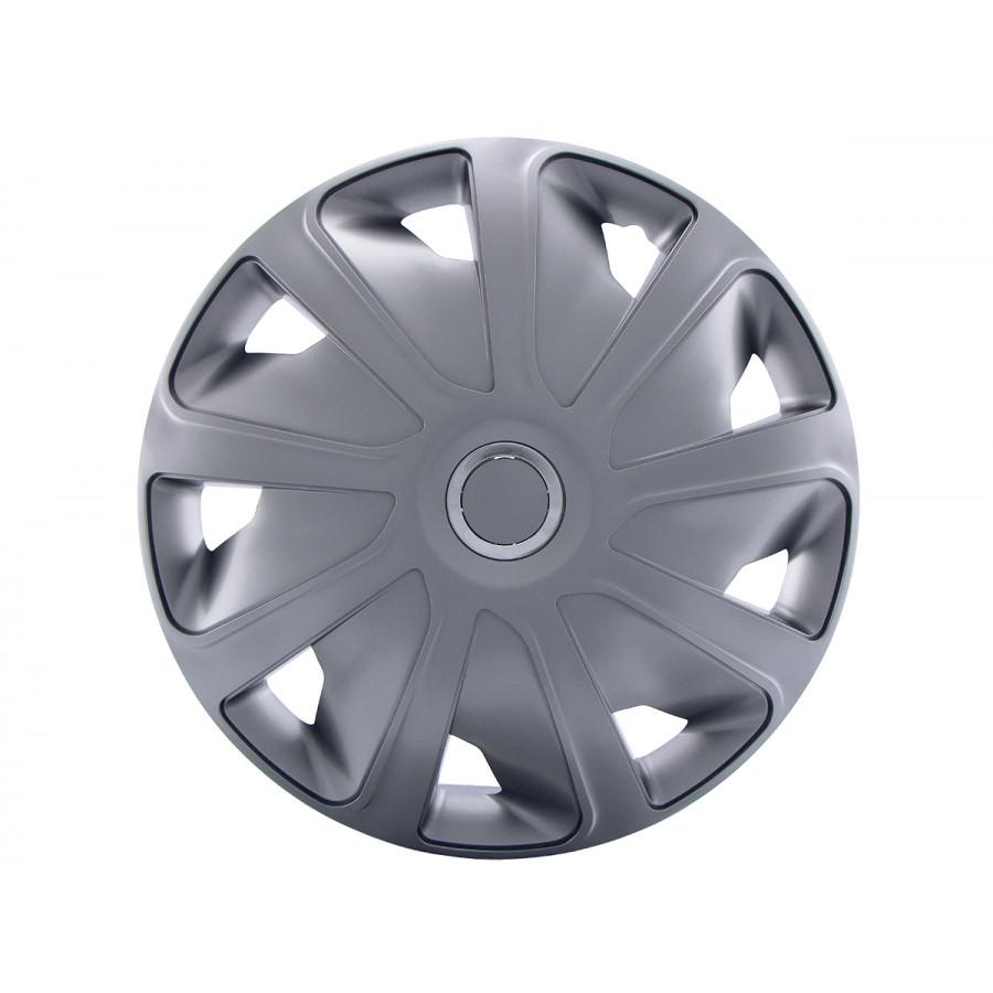 4 Delige Wieldoppenset Craft Rc Silver Bolle Velgen 16 Inch