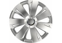 4-Delige Wieldoppenset Energy RC Silver 16 inch