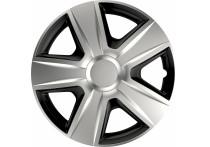 4-Delige Wieldoppenset Esprit  Silver&Black 16 inch