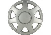 4-Delige Wieldoppenset Florida 14-inch zilver