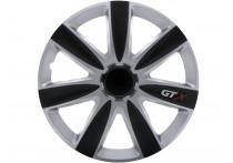 4-Delige Wieldoppenset GTX Carbon Black & Silver 17 inch