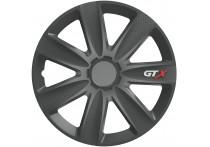 4-Delige Wieldoppenset GTX Carbon Graphite 17 inch