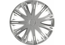 4-Delige Wieldoppenset Spark  Silver 16 Inch