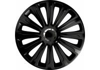 4-Delige Wieldoppenset Trend Black 16 inch