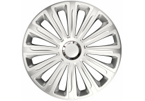 4-Delige Wieldoppenset Trend Silver 16 inch