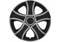 Wieldoppenset Bis Mix Zilver/Zwart 13 Inch