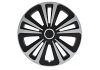 Wieldoppenset Terra Ring Mix Zilver/Zwart 16 Inch