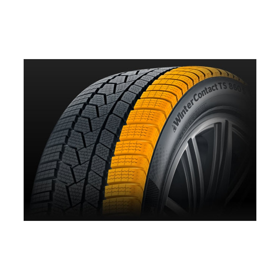 Continental Wintercontact Ts 860 20555 R16 91t