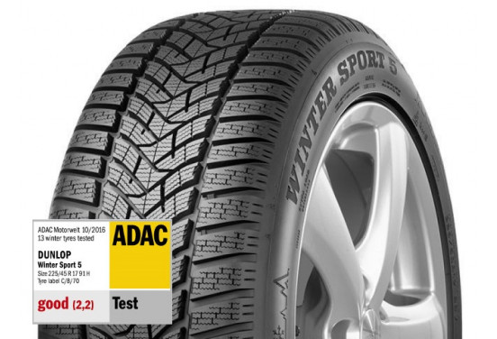 Dunlop Winter sport 5 suv xl 225/60 R17 103H