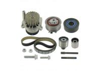 Pompe à eau + kit de courroie de distribution VKMC 01148-2 SKF