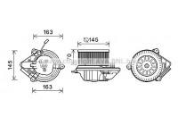 Moteur électrique, pulseur d'air habitacle CN8515 Ava Quality Cooling