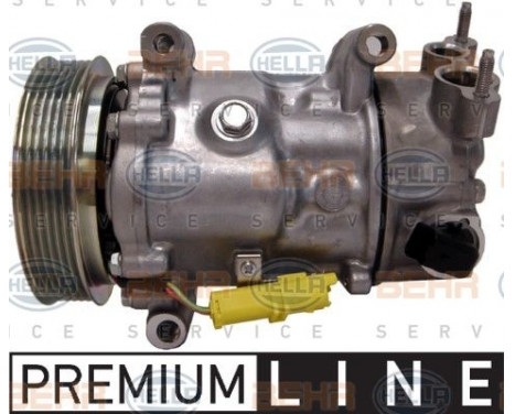Compresseur, climatisation BEHR HELLA SERVICE *** PREMIUM LINE ***, Image 5