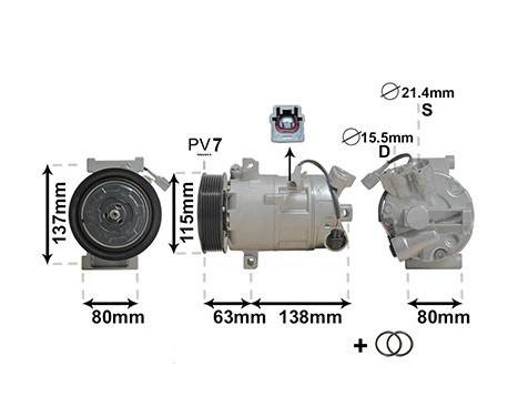 Compresseur, climatisation *** IR PLUS ***, Image 4