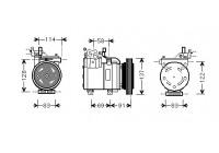 Compresseur, climatisation